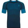 Odlo Ceramicool Motion Crew Neck SS Shirt Men blue jewel